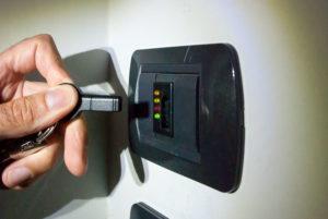 Atttivatore antifurto con chiave elettronica