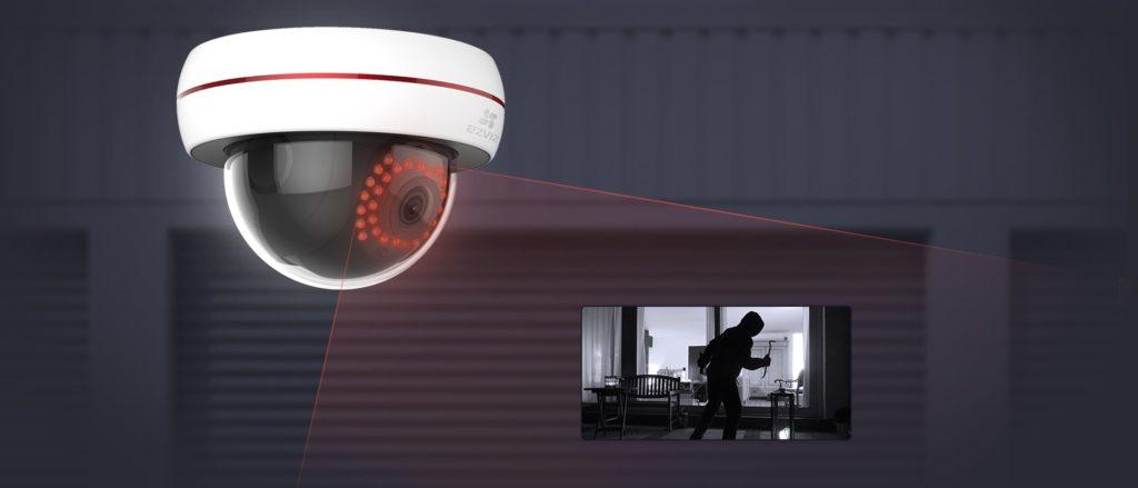 Telecamera di videosorveglianza Ezviz modello C4S