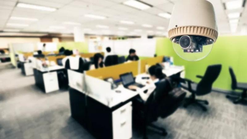 Dipendenti controllati da telecamere di videosorveglianza