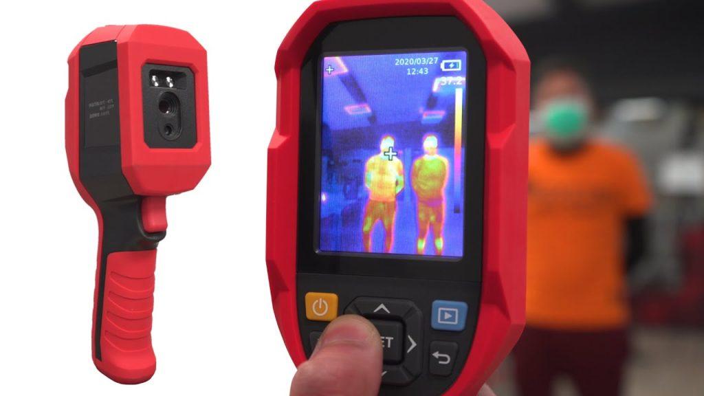 Telecamera termografica della Visiotech